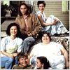 Gilbert Grape - Irgendwo in Iowa : Bild Darlene Cates, Johnny Depp, Juliette Lewis, Laura Harrington, Leonardo DiCaprio