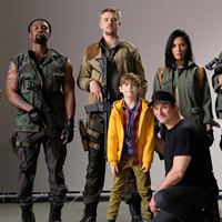 Predator - Upgrade : Vignette (magazine) Boyd Holbrook, Jacob Tremblay, Keegan-Michael Key, Olivia Munn, Shane Black