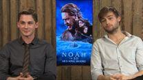 """Interview zu """"Noah"""" mit Ray Winstone, Logan Lerman und Douglas Booth"""