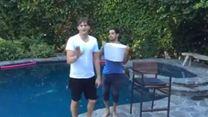 ALS Ice Bucket Challenge - Ashton Kutcher, Wilmer Valderrama & Dex Shepherd