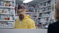 Walter White lives on in Esurance Super Bowl commercial