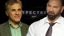 Wir fragen Christoph Waltz und Dave Bautista: Wie schwierig ist es eigentlich, wenn man über seinen eigenen Film absolut nichts verraten darf?
