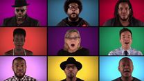 """Jimmy Fallon, The Roots & """"Star Wars: The Force Awakens"""" Cast Sing """"Star Wars"""" Medley (A Cappella)"""