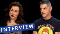 "allourhomes.net-Interview zu ""Cult Of Chucky"" mit Jennifer Tilly, Don Mancini und Fiona Dourif (allourhomes.net-Original)"