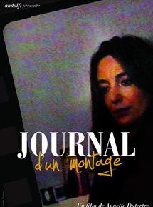 Journal d'un montage
