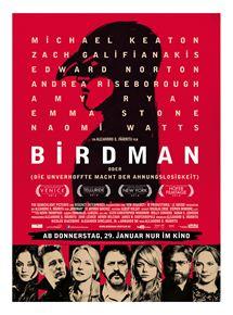 Birdman (oder die unverhoffte Macht der Ahnungslosigkeit)
