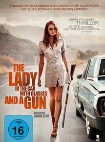 the lady in the car with glasses and a gun deutsch