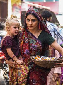 Fluss des Lebens: Kind des Ganges