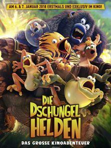 Die Dschungelhelden - Das große Kinoabenteuer Trailer DF