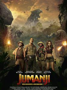 Jumanji: Willkommen im Dschungel Trailer DF