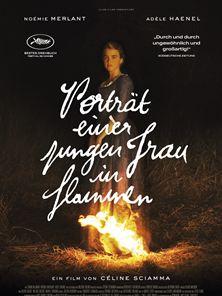 Porträt einer jungen Frau in Flammen Trailer DF