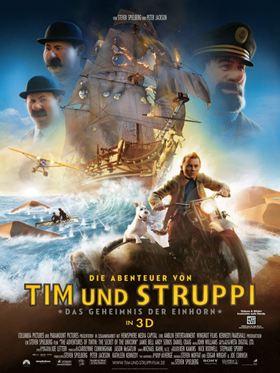 """Die Abenteuer von Tim und Struppi - Das Geheimnis der """"Einhorn"""""""