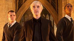 """Erster Blick auf Tom """"Draco"""" Felton in """"The Flash"""" und Klarstellung: Es wird weiterhin """"Harry Potter""""-Witze geben"""