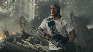"FILMSTARTS am Set von... ""Rampage - Big Meets Bigger"" mit Dwayne Johnson"