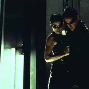 Matrix : Bild Carrie-Anne Moss, Keanu Reeves