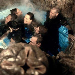 Alien 4 - Die Wiedergeburt : Bild Ron Perlman, Sigourney Weaver