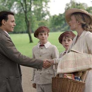 Wenn Träume fliegen lernen : Bild Johnny Depp, Kate Winslet