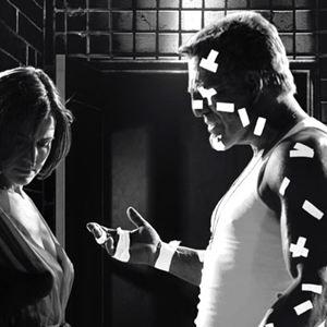 Sin City : Bild Carla Gugino, Mickey Rourke