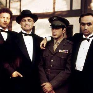 Der Pate : Bild Al Pacino, James Caan, John Cazale, Marlon Brando