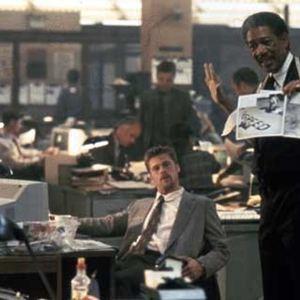 Sieben : Bild Brad Pitt, Morgan Freeman