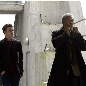 Bild David Burke (II), Justin Timberlake, Morgan Freeman