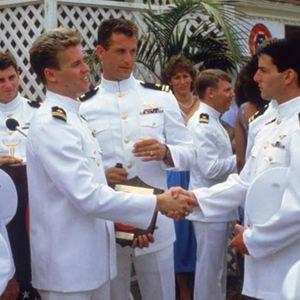 Top Gun : Bild Tom Cruise, Tom Skerritt, Val Kilmer