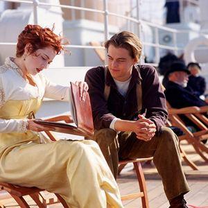 Titanic : Bild Kate Winslet, Leonardo DiCaprio
