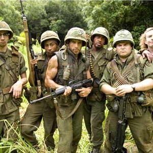 Tropic Thunder : Bild Ben Stiller, Brandon T. Jackson, Jack Black, Jeff Portnoy, Robert Downey Jr.