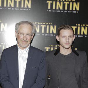 """Die Abenteuer von Tim und Struppi - Das Geheimnis der """"Einhorn"""" : Vignette (magazine) Jamie Bell, Steven Spielberg"""