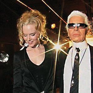 Bild Karl Lagerfeld, Nicole Kidman, Rodolphe Marconi