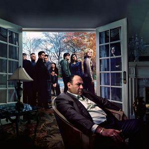 Die Sopranos : Bild Aida Turturro, Dominic Chianese, Edie Falco, James Gandolfini, Jamie-Lynn Sigler