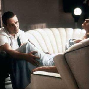L.A. Confidential : Bild Curtis Hanson, Kim Basinger, Russell Crowe