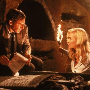 Indiana Jones und der letzte Kreuzzug : Bild Alison Doody, Harrison Ford