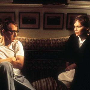 Ehemänner und Ehefrauen : Bild Mia Farrow, Woody Allen