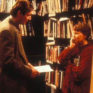 Ehemänner und Ehefrauen : Bild Liam Neeson, Mia Farrow, Woody Allen