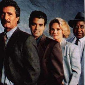 Bild Al Fann, George Clooney, Kate McNeil, Lee Horsley