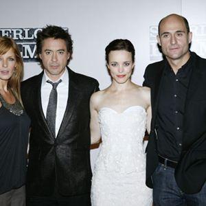 Sherlock Holmes : Bild Kelly Reilly, Mark Strong, Rachel McAdams, Robert Downey Jr.