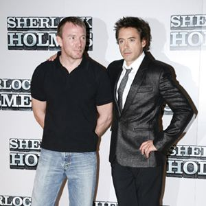 Sherlock Holmes : Vignette (magazine) Guy Ritchie, Robert Downey Jr.