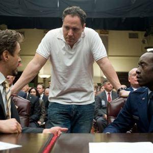 Iron Man 2 : Bild Don Cheadle, Jon Favreau, Robert Downey Jr.