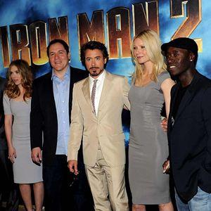 Iron Man 2 : Bild Don Cheadle, Gwyneth Paltrow, Jon Favreau, Mickey Rourke, Robert Downey Jr.
