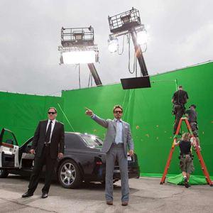 Iron Man 2 : Bild Jon Favreau, Robert Downey Jr.