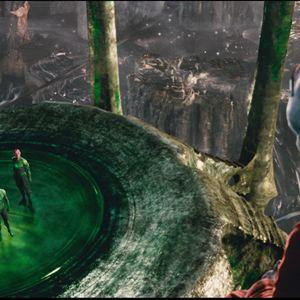Green Lantern : Bild Mark Strong, Ryan Reynolds