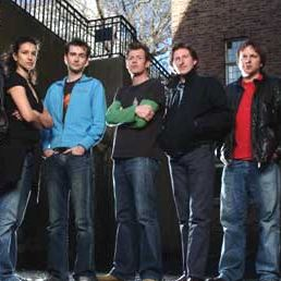 Bild Adrian Bower, Adrian Dunbar, Andrew Tiernan, David Tennant, Indira Varma
