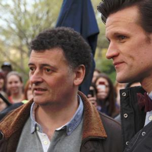 Bild Matt Smith (IV), Steven Moffat