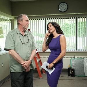 Scream 4 : Bild Courteney Cox, Wes Craven