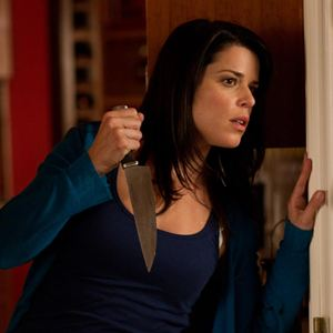 Scream 4 : Bild Neve Campbell, Wes Craven