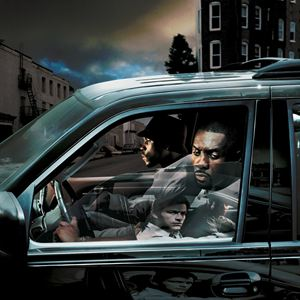 The Wire : Bild Idris Elba, Wood Harris