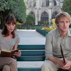Midnight In Paris : Bild Carla Bruni, Owen Wilson, Woody Allen