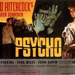 Psycho : Kinoposter