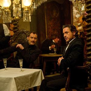 Sherlock Holmes 2: Spiel im Schatten : Bild Jude Law, Robert Downey Jr.